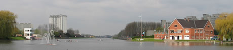 de watersportbaan in gent