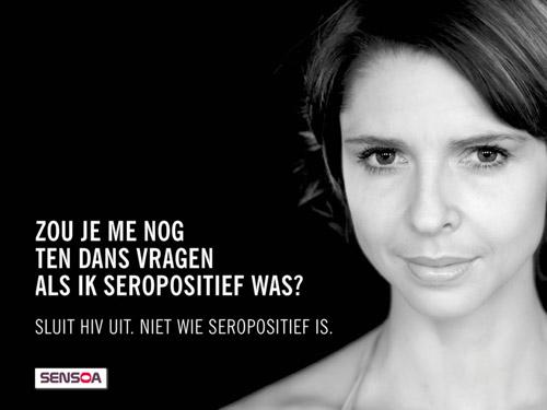Sluit hiv uit, niet wie seropositief is