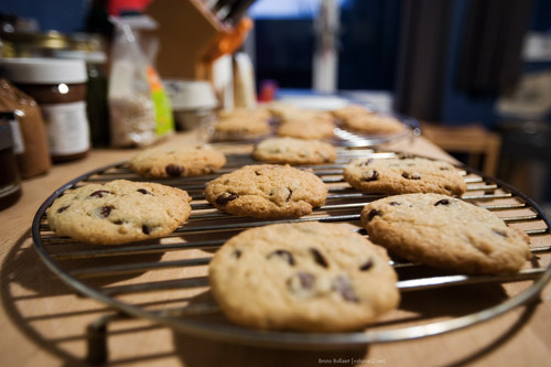 blue chip chocolate chip cookies