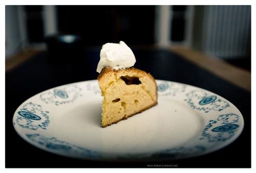 gelagen taart / Gâteau battu
