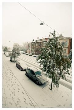 Ook in Gent heeft het gesneeuwd