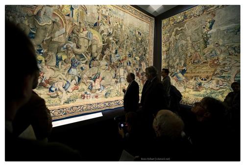Vlaamse Wandtapijten voor de Bourgondische hertogen, keizer Karel V en koning Filips II