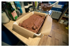 brownies met frambozen-cheesecake