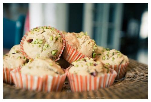 Tea cakes (met pistaches)