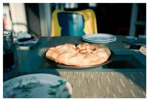 Appel-peer galette