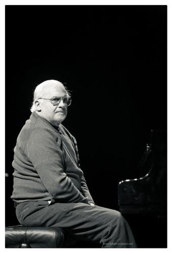 Paul Bley, Theaterzaal, Vooruit, Gent, BE, 15/05/2009