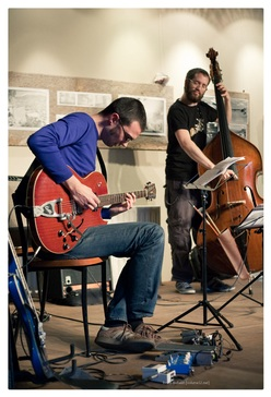 Frederik Leroux en Robert Landfermann, Opatuur, De Centrale, Gent, BE, 17/05/2009