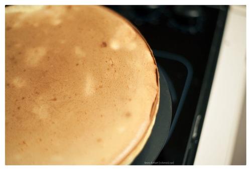 Cheesecake, (bijna) licht en luchtig