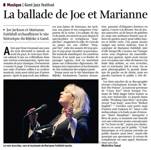 La Libre Belgique, 20-21/07/2009