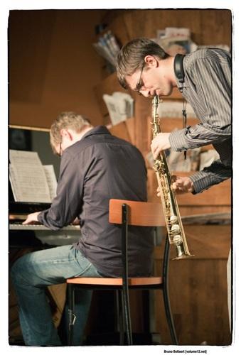 Aki Rissanen (p) & Robin Verheyen (ts), Opatuur @ De Centrale, Gent, BE, 01/11/2009