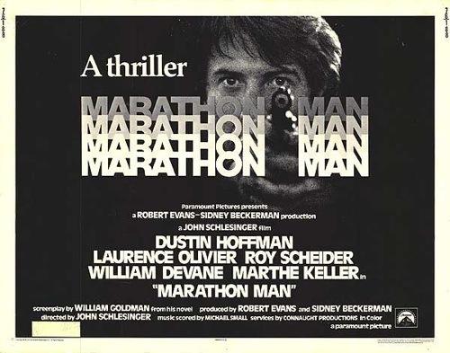 Marathon Man door John Schlesinger met Dustin Hoffman