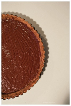 Tiramisu Black Bottom Tart