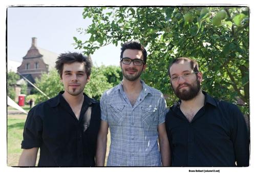 Frederik Leroux Trio door Bruno Bollaert