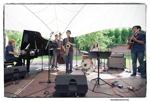 Nathan Daems Quintet by Bruno Bollaert