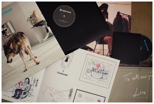 Vinyl door Bruno Bollaert
