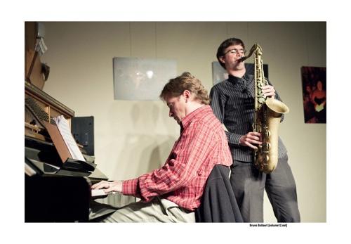 Robin Verheyen & Bill Carrothers bij Opatuur door Bruno Bollaert