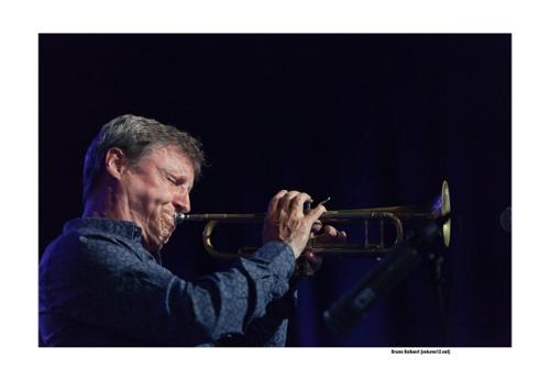 Bert Joris op Jazz Middelheim door Bruno Bollaert