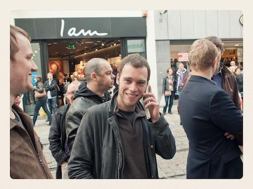 iPhonefile bij Mobistar door Bruno Bollaert