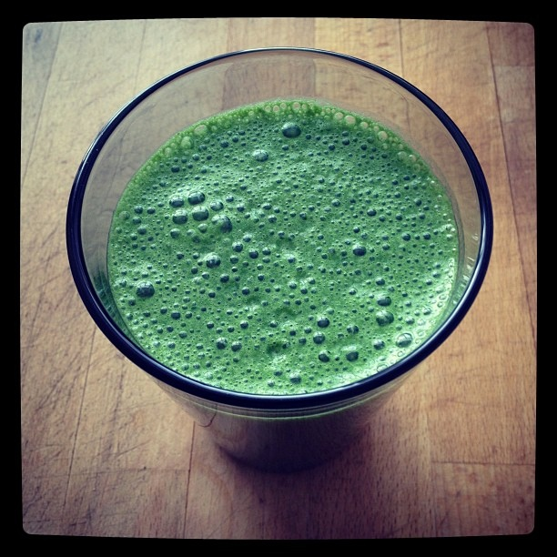 Super Spinach Smoothie door Bruno Bollaert